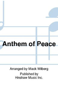 Anthem Of Peace SATB - Arr. Mack Wilberg