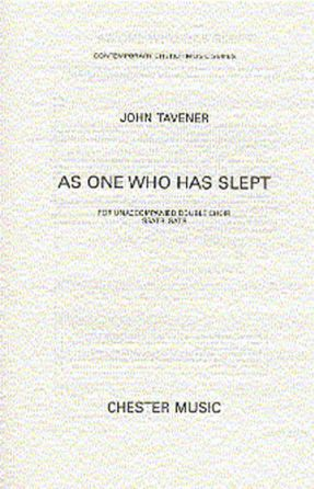 As One Who Has Slept SATB - John Tavener