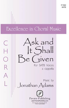Aske, And It Shall Be Given You - Jonathan Adams