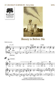 Beauty Is Before Me SATB - Penny Blake