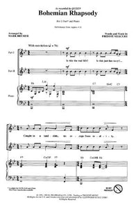 Bohemian Rhapsody 2-Part - Arr. Mark Brymer