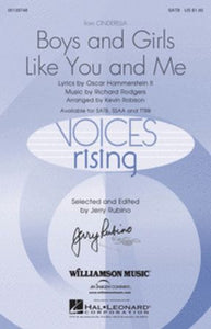 Boys And Girls Like You And Me SATB (Cinderella) - Arr. Kevin Robison