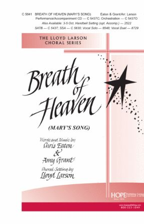 Breath Of Heaven (Mary's Song) SAB - Arr. Lloyd Larson