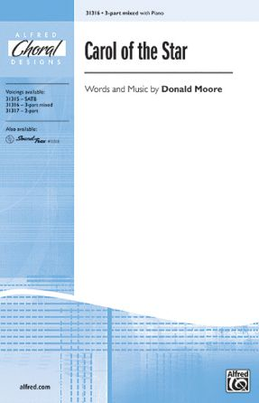 Carol Of The Star 3-Part Mixed - Arr. Donald Moore
