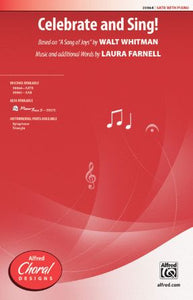 Celebrate And Sing! SATB - Laura Farnell