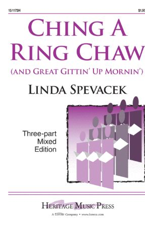 Ching A Ring Chaw 3-Part Mixed - Arr. Linda Spevacek-Avery