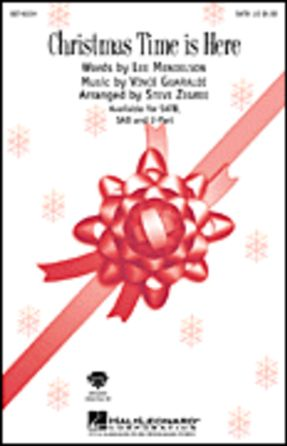 Christmas Time is Here 2-Part - Arr. Steve Zegree