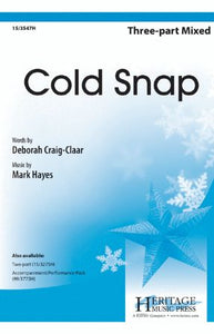Cold Snap 3-Part Mixed - Mark Hayes