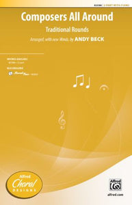 Composers All Around! 2-Part - Arr. Andy Beck And Mark Burrows
