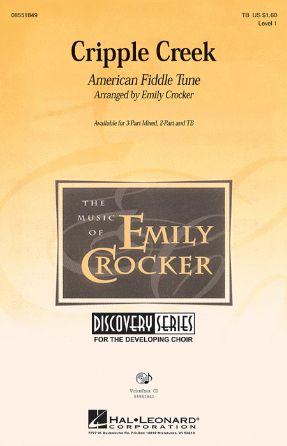 Cripple Creek 3-part - Arr. Emily Crocker