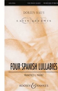 Cucu (Four Spanish Lullabies) SSA - Francisco J. Nunez