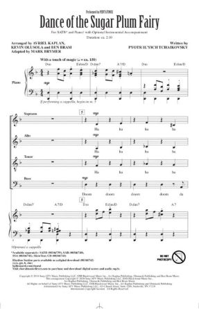 Dance of the Sugar Plum Fairy SATB - arr. Mark Brymer