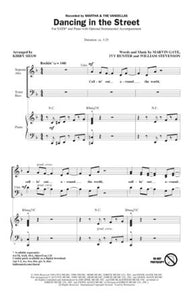 Dancing In The Street SATB - Arr. Kirby Shaw