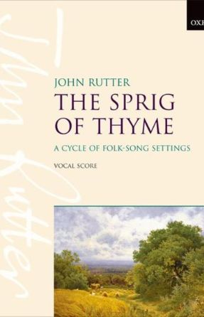 Down By The Sally Gardens (The Sprig Of Thyme) SATB - Arr. John Rutter