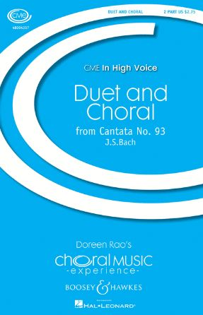 Duet and Choral 2-Part - J S Bach ed Doreen Rao