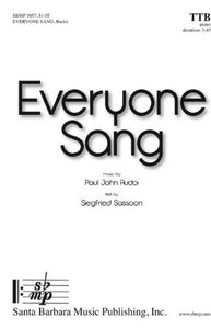 Everyone Sang TTB - Paul John Rudoi