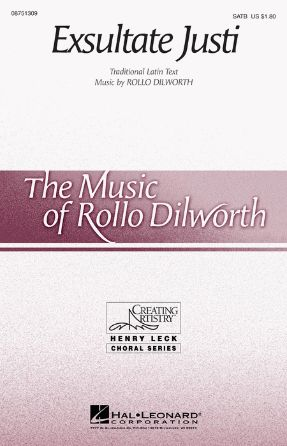 Exsultate Justi 2-Part - Rollo Dilworth