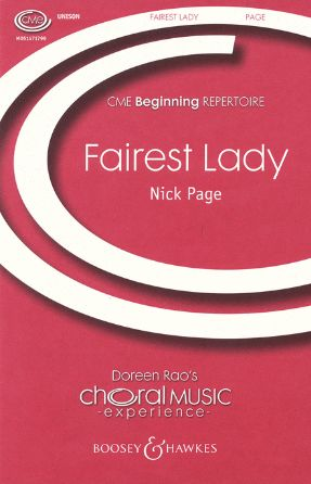 Fairest Lady Unison Voices - Nick Page