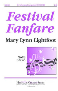 Festival Fanfare SATB - Mary Lynn Lightfoot