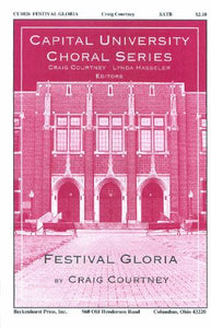 Festival Gloria SATB - Craig Courtney