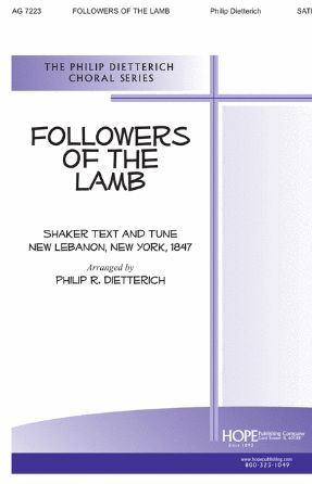 Followers of The Lamb SATB - Arr. Philip R. Dietterich