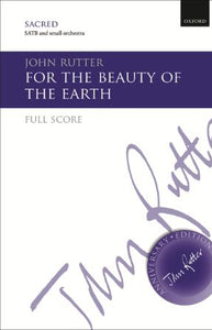 For The Beauty Of The Earth SATB - John Rutter