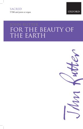 For The Beauty of The Earth TTBB - John Rutter