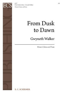 From Dusk To Dawn SSA - Gwyneth Walker