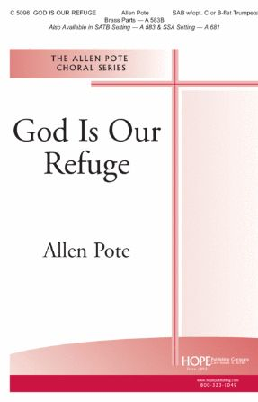 God Is Our Refuge SAB - Allen Poe