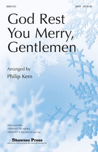 God Rest You Merry, Gentlemen SATB - Arr. Philip Kern