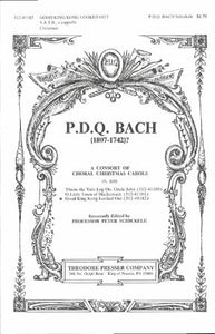 Good King Kong Looked Out SATB - P.D.Q. Bach, Ed. Peter Schickele