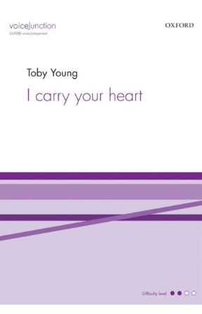 I Carry Your Heart SSATBB - Arr. Toby Young