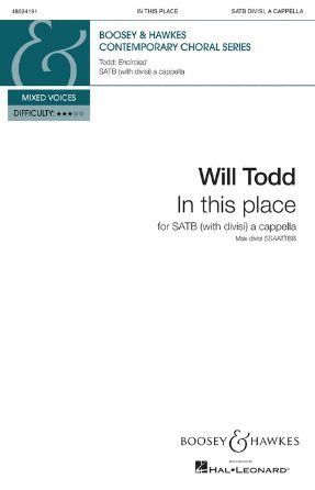 In This Place SATB - Will Todd