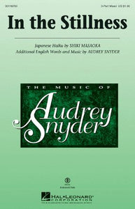 In The Stillness 3-Part Mixed - Audrey Snyder
