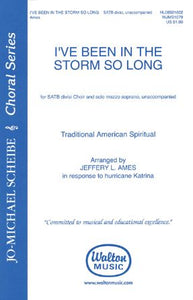 I've Been In the Storm So Long SATB - Arr. Jeffrey L. Ames