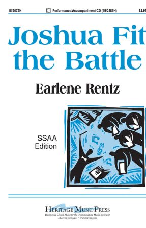 Joshua Fit The Battle SSAA - Arr. Earlene Rentz