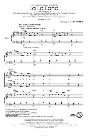 La La Land Choral Highlights SATB - Arr. Mark Brymer