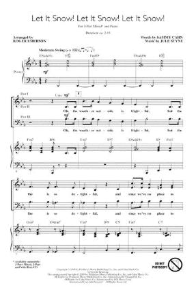 Let It Snow! Let It Snow! Let It Snow! 3-Part Mixed - Arr. Roger Emerson