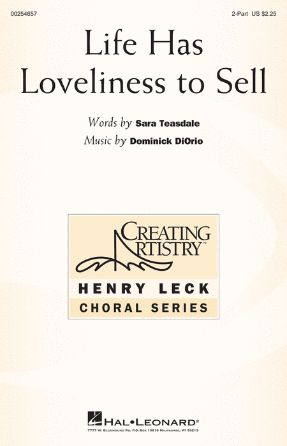 Life Has Loveliness to Sell 2-Part - Dominick DiOrio