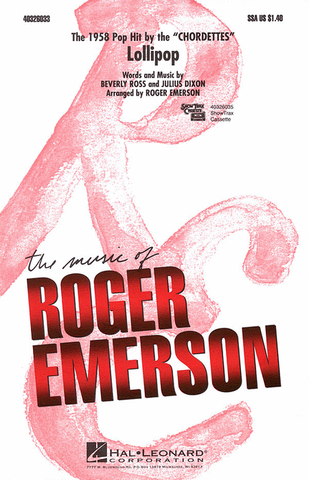 Lollipop SSA - Arr. Roger Emerson