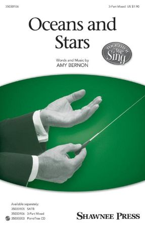 Oceans and Stars 3-Part Mixed - Amy Bernon