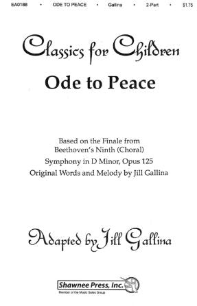 Ode To Peace 2-Part - Jill Gallina