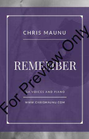 Remember SA - Chris Maunu