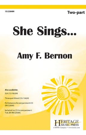 She Sings... 2-Part - Amy Feldman Bernon