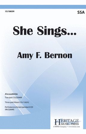 She Sings... SSA - Amy Feldman Bernon