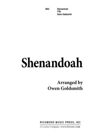 Shenandoah TTB - Arr. Owen Goldsmith