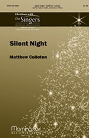 Silent Night SATB - Matthew Culloton