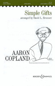 Simple Gifts SATB - Aaron Copland