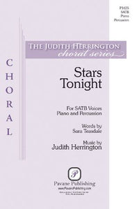 Stars Tonight SATB - Judith Herrington