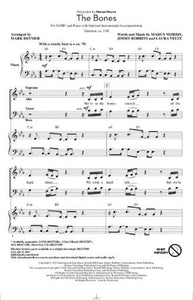 The Bones SATB - arr. Mark Brymer